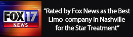 Rated by Fox News as the Best Limo company in Nashville
