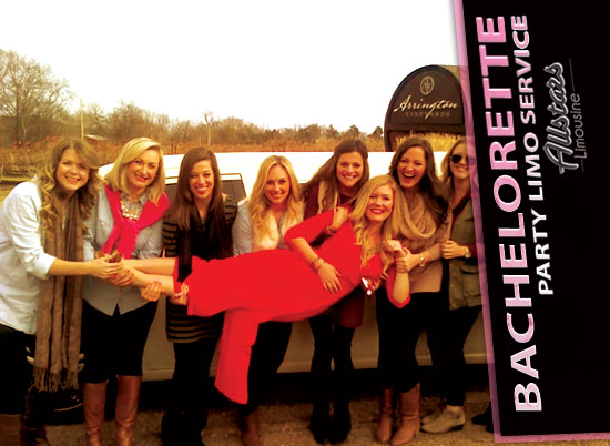 Nashville Bachelorette Party Service By Allstars Limousine